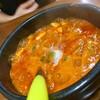 食堂ユリ - 料理写真:グツグツと灼熱のスンドゥブチゲ。