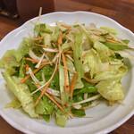食堂ユリ - チョレギサラダ。家庭的。