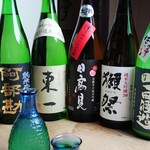 喜多よし - 日本酒各種常にございます。