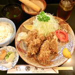陣屋  - 料理写真:カキフライ定食