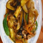 喜楽 - 料理写真:肉ナス定食♡