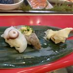 立喰 さくら寿司 - 生タコ、いわし