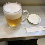 立喰 さくら寿司 - 生ビール大
