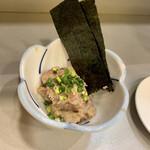 立喰 さくら寿司 - 鯵なめろう