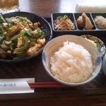 soul of okinawa 海の彼方 - お昼のゴーヤチャンプルー