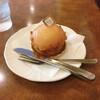 欧風菓子エノモト - 料理写真:ケーキセット 970円(税込)の白桃タルト