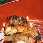 うなぎ 串焼きと九州料理 芋蔵 - うな丼ダブル
