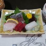 遊魚菜 平翁 - 刺身遊膳(刺身盛り合わせ)