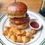 Burger Stand Tender - 料理写真:ベーコンチーズバーガー & フレンチフライ