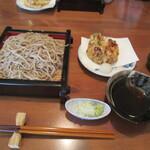 手打ち蕎麦 ほかげ - 料理写真:小海老かき揚げ天せいろ