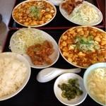 13553906 - 麻婆豆腐ランチ