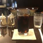 珈琲のシャポー - アイスコーヒー¥650