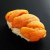 鮨孝 - 料理写真:甘いウニは海苔なしで