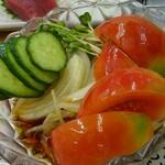 魚庭本店 - 野菜サラダ