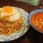 ティーヌン - Aセット ガパオライス&トムヤムスープ 1,230円