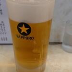 135544261 - 2020年8月 生ビール(中) 560円