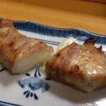 権兵衛 - エリンギ(豚バラ巻きのチーズ入り)