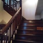 135553543 - 入り口すぐの階段