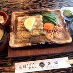 うなぎ釜めし藤田 - うなぎ釜めし藤田(うなぎバター焼定食)
