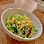 ケゴマチコモン wine&dining - サラダ