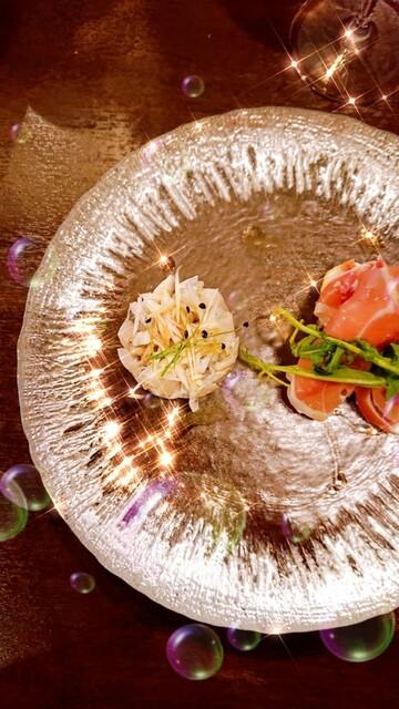 ラーモの料理の写真