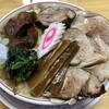 かし亀 - 料理写真:塩生姜チャーシュー麺(スネと豚)1200円