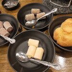 七輪焼肉 安安 - 食べ放題のデザート全種類