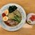 ぎょうざの満洲 - 冷し中華と餃子 ¥860 の冷し中華