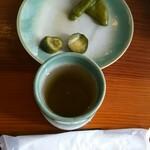そば園 佐竹 - お茶