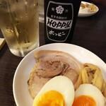 麺処 あす花 - 特製トッピング(つまみ)