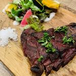 肉バルガッチャ - 牛ハツステーキ