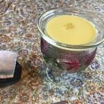レストランディモア - トウモロコシの冷製スープ