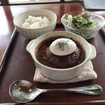 135577007 - 近江牛の煮込ハンバーグ