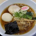 あずま食堂 - 白河ラーメン 750円