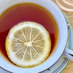 喫茶モンマルトル - レモンティー