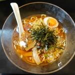 渡辺 - 料理写真:冷やしラーメン(700円)←750円だったかも
