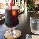 カド珈琲 - アイスコーヒー 440円