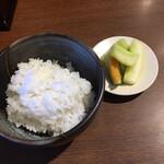 みそ膳 - 半ライス110円