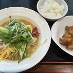 中国料理 千琇 - 中華冷麺セット