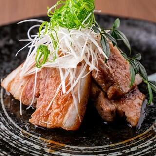 下田さん家の豚バラ肉の生姜焼き