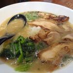 まる鶏 - チャーシュー麺
