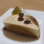 135591300 - エスプレッソのレアチーズケーキ