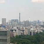 sazantawa-dainingu - 窓から見えるスカイツリー