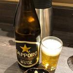 福福茶屋 - 瓶ビール550円