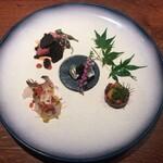 FUKUTATEI - 旬の食材と趣向を凝らした前菜盛り合わせ