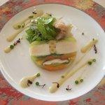 1356147 - ホタテと温野菜のテリーヌ