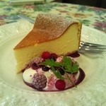 GROSVENOR CAFE - ベイクドチーズケーキ