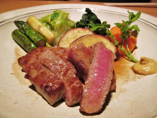 ざくろ 室町店 - 香り醤油ステーキ