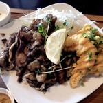 フルカワ食堂 - 焼肉&海老揚げ