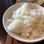 フルカワ食堂 - ご飯普通盛り